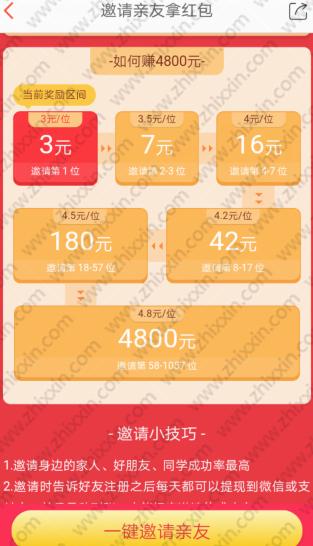 淘新闻活动:元宵邀请亲友拿红包最高4800元
