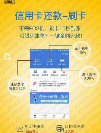 软银支付app:零投资日赚千元项目
